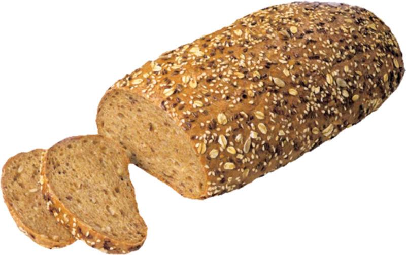 Quark-Mehrkorn-Brot, vorgebacken, tiefgefroren /Back-Shop