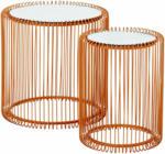 Schubiger Möbel Beistelltisch Wire Copper