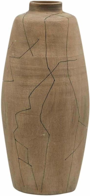 Vase Amphore Sand H: 43 cm