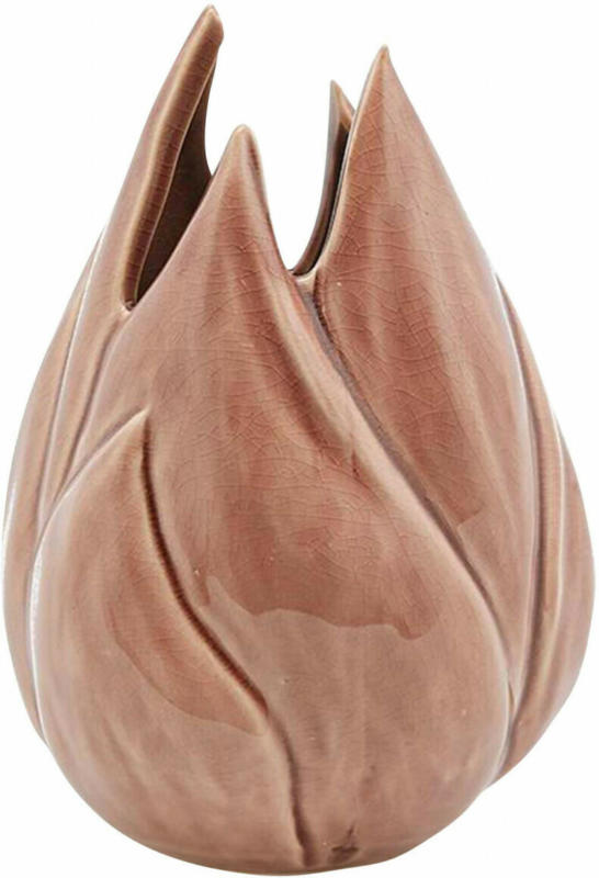 Vase Flamme H: 19 cm
