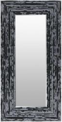 Spiegel Charly Schwarz-Silber