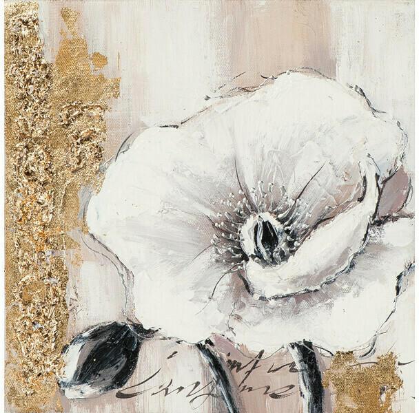 Bild Gold Orchidee