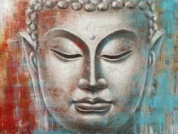 Bild Buddha, Silber