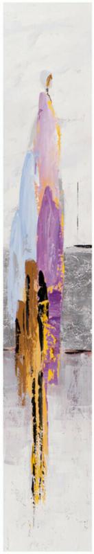 Bild Frau Abstrakt 25 x 150 cm