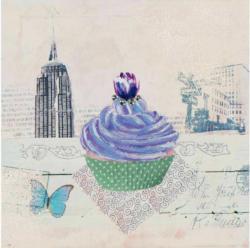 Bild Heidelbeer-Cupcake