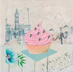Bild Erdbeer-Cupcake