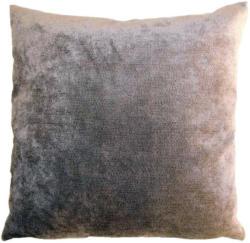Kissenhülle Muri, 50x50cm, Silber