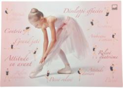 Schreibunterlage Ballerina