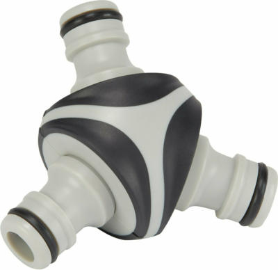 LUX Y-Stück Schlauchverbinder für Stecksystem