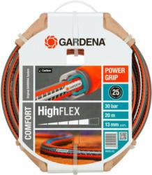 """Gardena Gartenschlauch Comfort HighFlex 13 mm (1/2"""") 20 m mit PowerGrip 30 bar"""