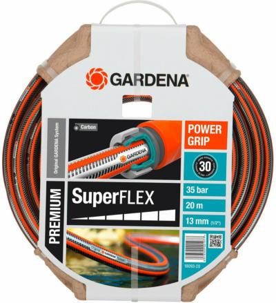 """Premium SuperFlex Schlauch 13 mm (1/2"""") 20 m ohne Systemteile"""