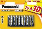 MediaMarkt Batterien LR03APB/20BW AAA 10+10F (20 Stück)