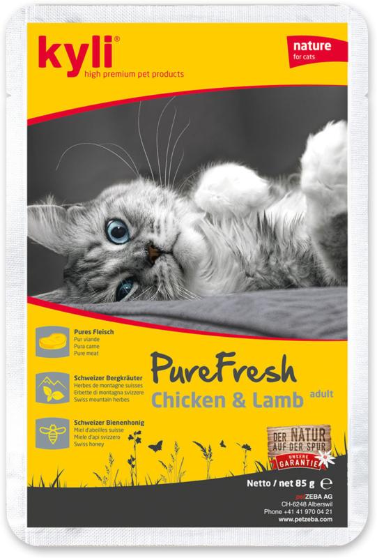 kyli PureFresh Adult Chicken & Lamb 12x85g
