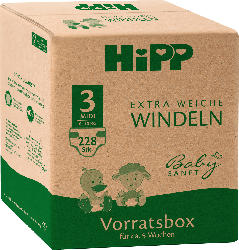 Hipp Babysanft Windeln Gr. 3 Midi, 6-10 kg, Monatsbox