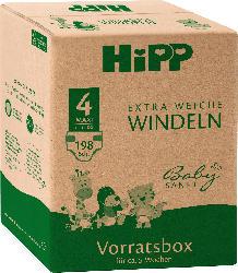 Hipp Babysanft Windeln Gr. 4 Maxi, 10-14 kg, Monatspack