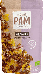 Naturally PAM Knuspermüsli, Granola Crunchy Classic