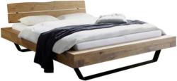 Bett 140/200 cm in Eichefarben