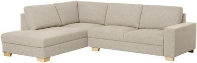 IKEA SÖRVALLEN Ecksofa 3-sitzig - ohne Abschluss links/Lejde dunkelbeige