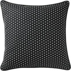IKEA MALINMARIA Kissen - dunkelgrau/weiß Punkte