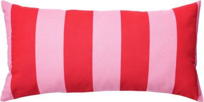 IKEA SARAKAJSA Kissen - rosa/rot/gestreift