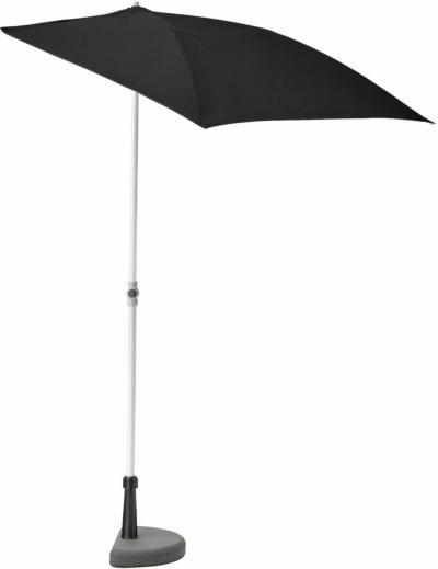 IKEA BRAMSÖN / FLISÖ Sonnenschirm mit Ständer - schwarz