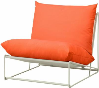 IKEA HAVSTEN Sessel drinnen/draußen - orange/beige
