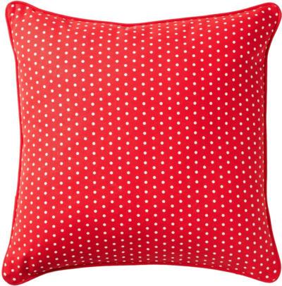 IKEA MALINMARIA Kissen - rot/weiß Punkte
