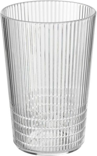 IKEA KALLSINNIG Trinkgefäß, Kunststoff - transparent