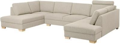 IKEA SÖRVALLEN Sofa, U-Form/4-sitzig - Lejde dunkelbeige