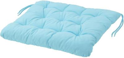 IKEA KUDDARNA Stuhlpolster/außen - hellblau