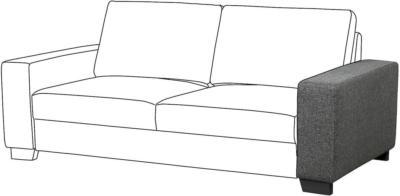 IKEA SÖRVALLEN Armlehne - Lejde dunkelgrau