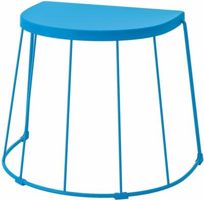 IKEA TRANARÖ Hocker/Beistelltisch innen/außen - blau