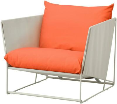 IKEA HAVSTEN Sessel, drinnen/draußen - orange/beige