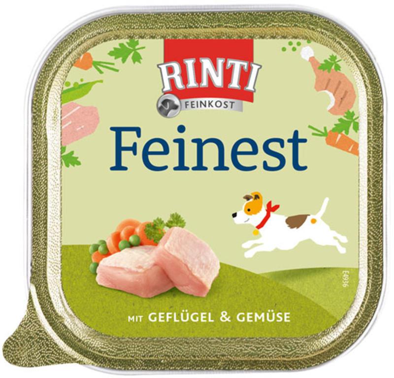 Rinti Feinest mit Huhn & Gemüse 150g