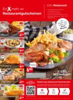 XXXLutz Flugblatt - Restaurantgutscheine