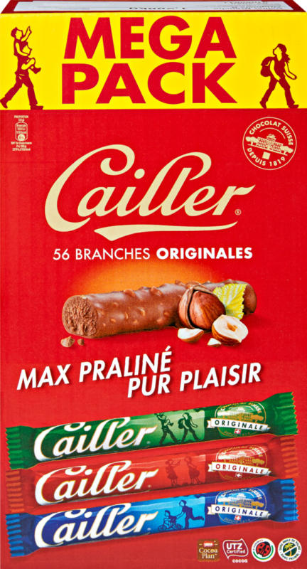 Branches Lait Cailler, 56 x 23 g