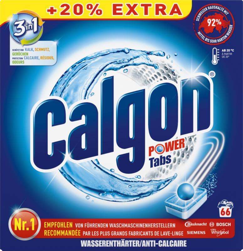 Calgon Wasserenthärter 3in1 Power, Tabs, 66 Stück
