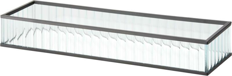 Dekobox Iron in Klar/Schwarz
