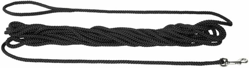 Feldleine Polyamidseil schwarz 20m  8 mm | schwarz | 2000 cm