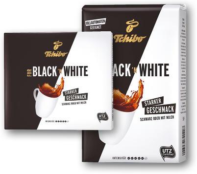 TCHIBO BLACK AND WHITE 2X250G