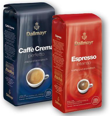DALLMAYR CAFFE CREMA, ESPRESSO 1000G