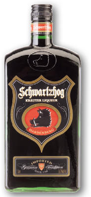 SCHWARTZHOG KRÄUTER LIQUEUR 36,7% 1L