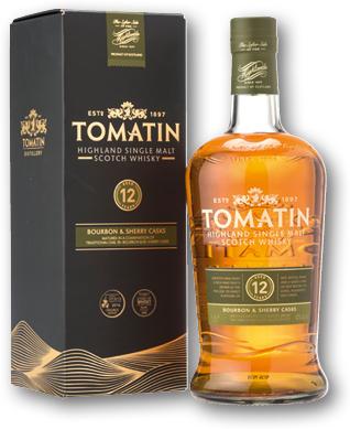 TOMATIN 12YO 43% 1L