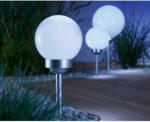 OBI LED Solarkugel mit Erdspieß Bojano Ø 15 cm - bis 31.07.2021