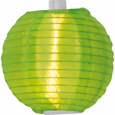 Solar-Lichterkette mit Lampions Bunt 5 m