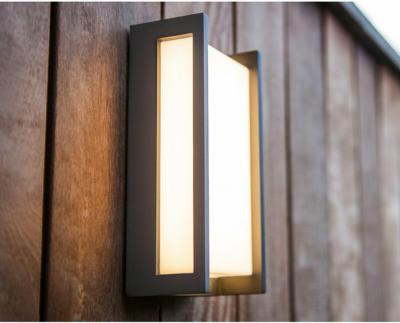 Lutec LED-Außenwandleuchte Qubo EEK: A++