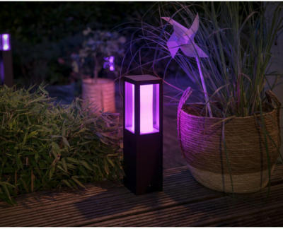 Philips Hue White & Color Ambiance Impress LED-Sockelleuchte Hochvolt EEK: A