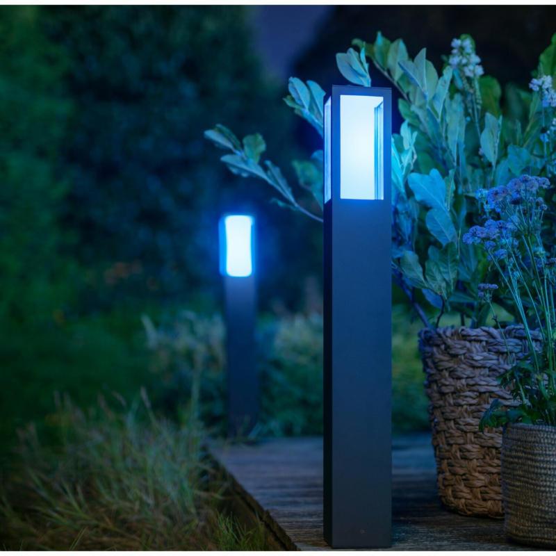 Philips Hue White & Color Ambiance Impress LED-Wegeleuchte EEK: A