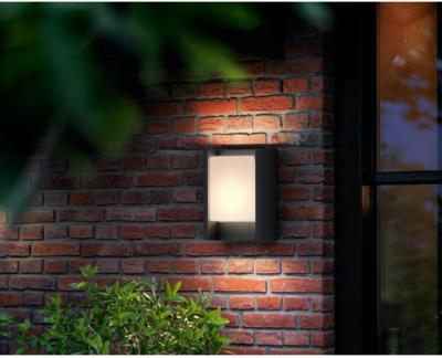 Philips LED-Außenwandleuchte Arbour Anthrazit EEK: A++