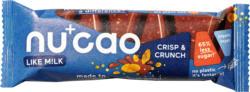 nucao Schokoladen-Riegel Crisp & Crunch